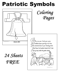 Small Picture Patriotic Symbols Free and Printable