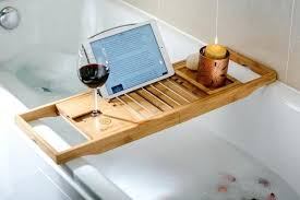 Bathtub Trays Bathtub Bath Tray Caddy Wood