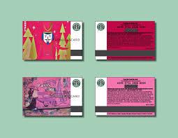 starbucks gift cards design branding
