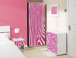 girls pink zebra bedroom furniture sets