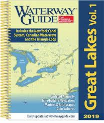 Great Loop Charts Waterway Guide Great Lakes 2019 Volume 1