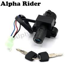 popular honda motorcycle ignition switch buy cheap honda motorcycle 3 wires ignition switch lock key set for honda vfr400 nc21 nc24 nc30