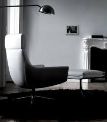 Living Room Lounge Chairs Luxury White Wall With Modern Design Chaise Lounge Can Be Applied