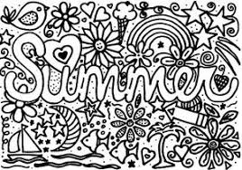 Free printable coloring pages for kids! Summer Coloring Page For Kids Allfreekidscrafts Com