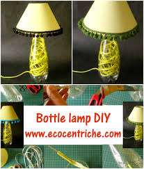 Plastic Bottle Lamp Reusingupcycling Plastic Bottle House