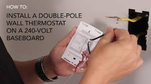 double pole thermostat wiring diagram wiring diagram 2 Pole Thermostat Wiring Diagram double pole thermostat wiring diagram with maxresdefault jpg double pole thermostat wiring diagram