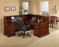 build your own office. Build Your Own Office Desk : Contemporary Table Design With Brown Wood Color And L
