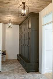 laundry room lighting. Beautiful Storage Space For The Laundry Or Mud Room. Lighting Fixtures Compliment Rustic Room