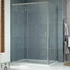 1100 x 900mm sliding door shower enclosure