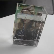 acrylic photo frame fish tank vase 6 7 inch photo frame acrylic vase