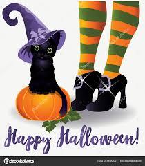 Happy Halloween Wallpaper Black Cat ...