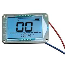 Us 7 44 38 Off Large Screen Lcd Display 12v Lead Acid Battery Capacity Meter Battery Voltage Indicator For Motorcycle Golf Cart Car In Chargers From