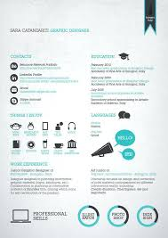Creative Resume Graphic Designer Cool Resume Designs Creative