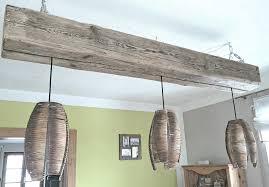 Haengeleuchte Treibholz Esszimmer Lampe Altholz Veithdesign Hash