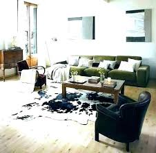 faux cowhide rug cow large black white rugs