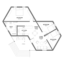 Hexagon House Design Plans Hex House Hex House Rapidly Deployable House