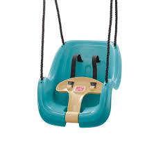 step 2 infant toddler swing in turquois