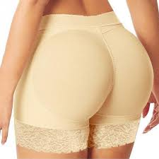 Buy nude color ruffled butt panties