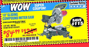 harbor freight miter saw. i first used a battery operated sliding compound miter saw (different brand) few days previously while we were building the solar charging station. harbor freight