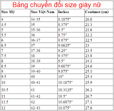 size 38 in us shoe american shoe size american and vietnamese size conversion table