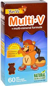 Yum V's Multi-V plus Multi-Mineral Formula Milk ... - Amazon.com