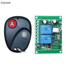 universal garage door receiver universal garage door remote control relay switch opener work with genie garage
