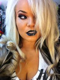 trisha paytas on twitter bride of chucky makeup tutorial finished should be up this week costumes y goth childsplay