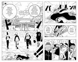 If Naruto was drawn like One Piece (X-Post /r/Naruto) : OnePiece
