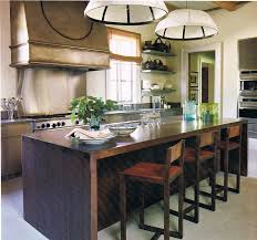 Kitchen Island Design Ideas kitchenattractive kitchen island design with creative hanging kitchen tools and unique bar stool ideas