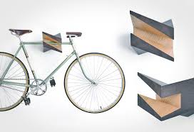 wood bike hanger iceberg lumberjac