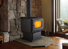 images of wood stove vs fireplace