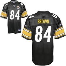 84 With Sale Brown Antonio Black Steelers Nfl Shipping Stitched Jersey Free Cheapest