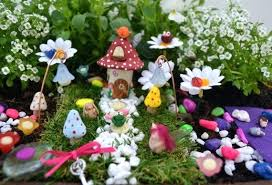 fairy gardens supplies. Outdoor Fairy Garden And Me Kits Red House Kit Gardens Supplies