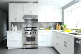 grey subway tile kitchen white kitchen with grey subway tiles white kitchen cabinets with gray subway tile backsplash