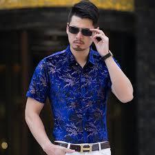 KUYOMENS <b>Men Shirt Mens</b> Dress <b>Shirts</b> Male Floral <b>Turndown</b> ...