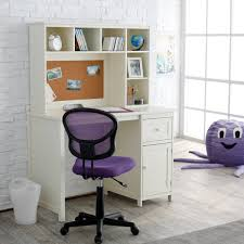 purple chair white bedroom desk octopus eyes smile massive windows drawer wooden floor basket picture hanging drawer