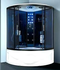 steam shower jacuzzi whirlpool tub combo jet tub with shower enclosure soprano x steam rain jetted
