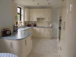 Cream Gloss Kitchen Installation Love Kitchens Kitchen Decor Pinterest Grey