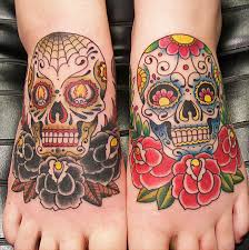Mexican Sugar Skull Tattoos Tattoo Bytes