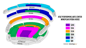 At7t Center Seating Chart
