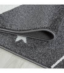 children s rug carpet design shooting star grey pink