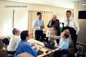 nike air force 1 office. President Obama Talks To Senior Advisors Aboard Airforce One Nike Air Force 1 Croc Office