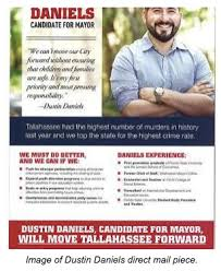 Dustin Daniels mailer - Florida Politics - Campaigns & Elections. Lobbying  & Government.