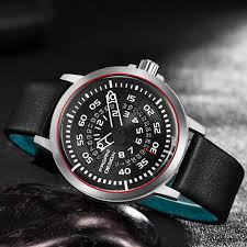 Pagani Design Watch Casual Pagani Design Mens Watch Special Design Leather Strap 2 Colours