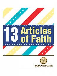 Lds Articles Of Faith Flip Chart