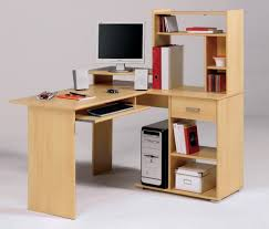 deep computer desk for organized office