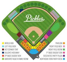 Ford Stadium Seating Chart Seating Chart Portland Pickles