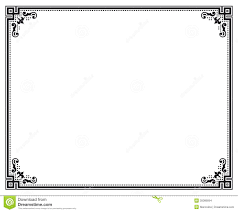white certificate frame vector frame stock vector illustration of diploma ornate 35089094