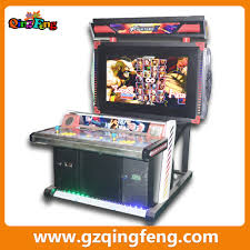 qingfeng coin operated fighter uncaged 3d street fighter arcade