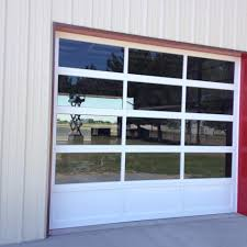 clear glass front doors